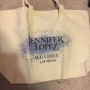 Jennifer lopez Las Vegas Tote Bag